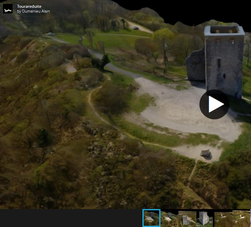 3D scans par drone Playlist6tours